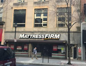 Mattress Firm Philadelphia Commercial Renovation